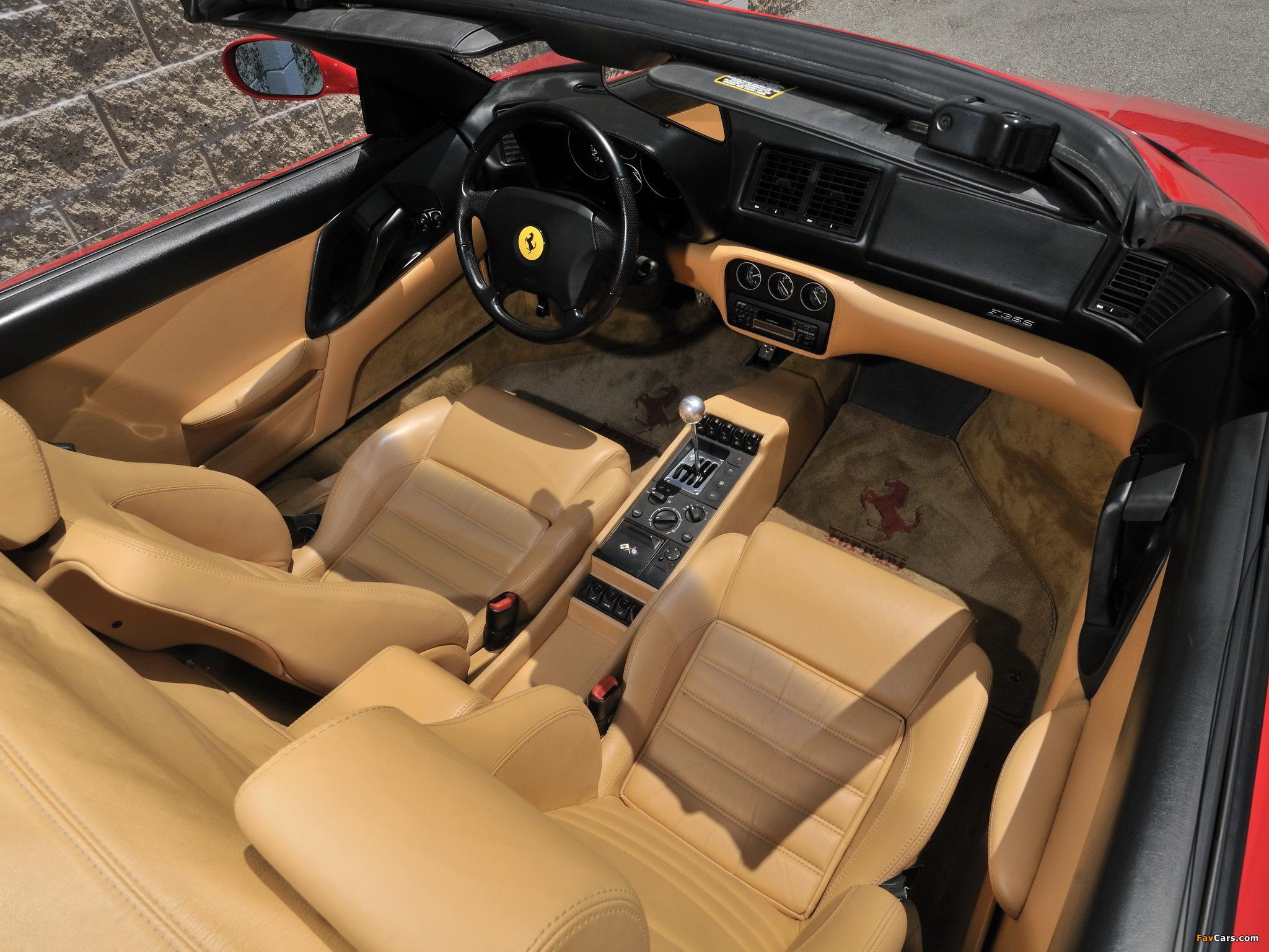 Ferrari F355 Spider 1994–99 images (2048 x 1536)