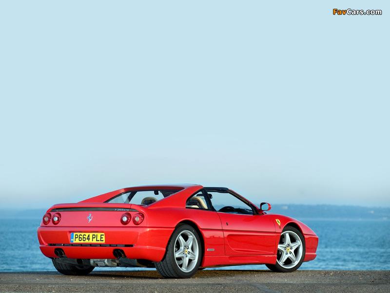 Ferrari F355 GTS UK-spec 1994–99 images (800 x 600)