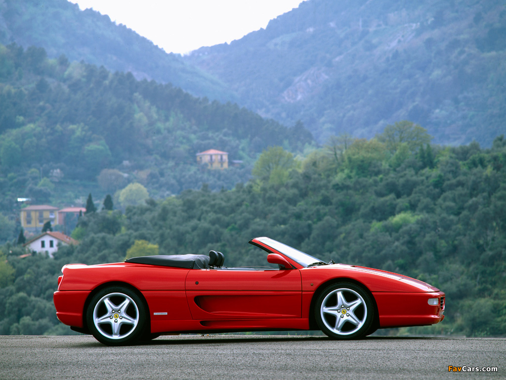 Ferrari F355 Spider 1994–99 photos (1024 x 768)