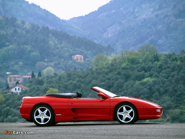 Ferrari F355 Spider 1994–99 photos (640 x 480)