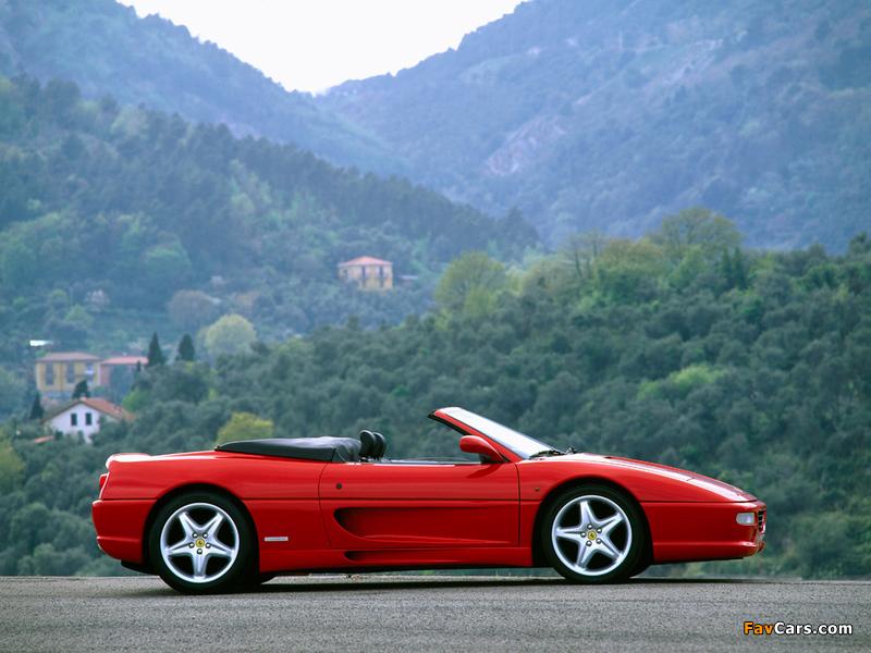 Ferrari F355 Spider 1994–99 photos (800 x 600)