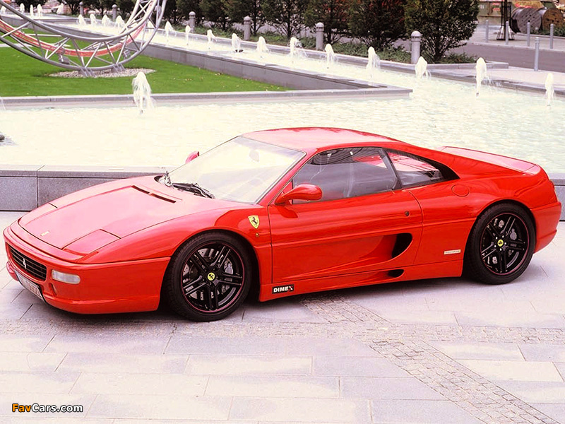 Imola Racing Ferrari F355 Berlinetta 1994–99 photos (800 x 600)