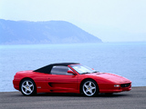 Ferrari F355 Spider 1994–99 pictures