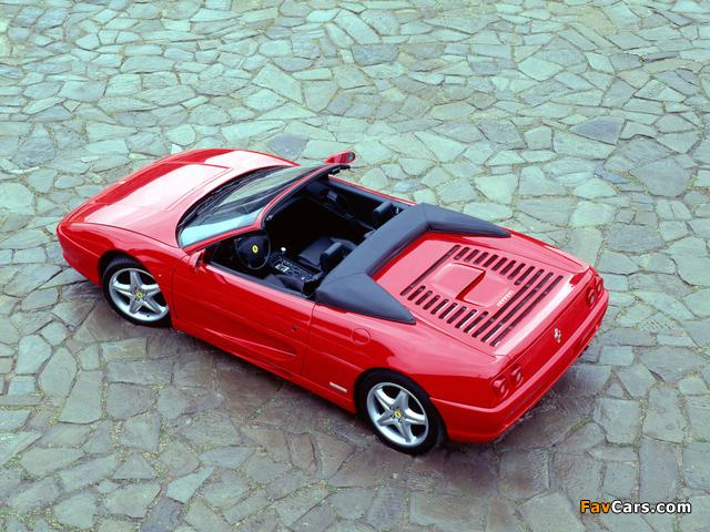Ferrari F355 Spider 1994–99 pictures (640 x 480)