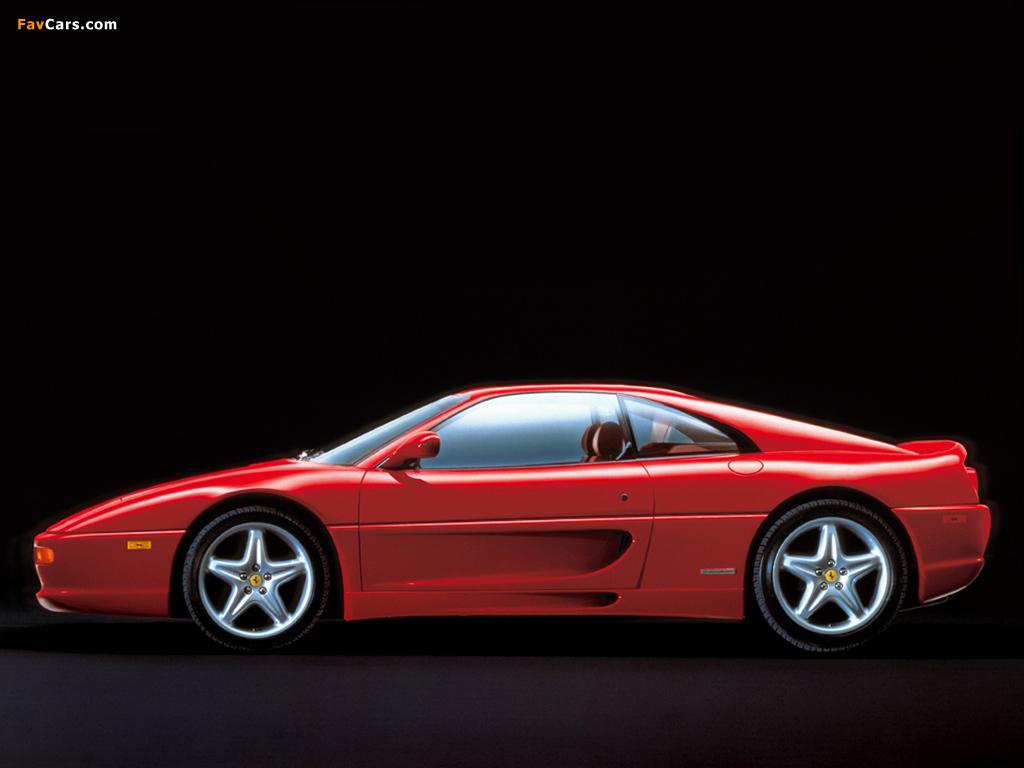 Ferrari F355 Berlinetta 1994–99 wallpapers (1024 x 768)