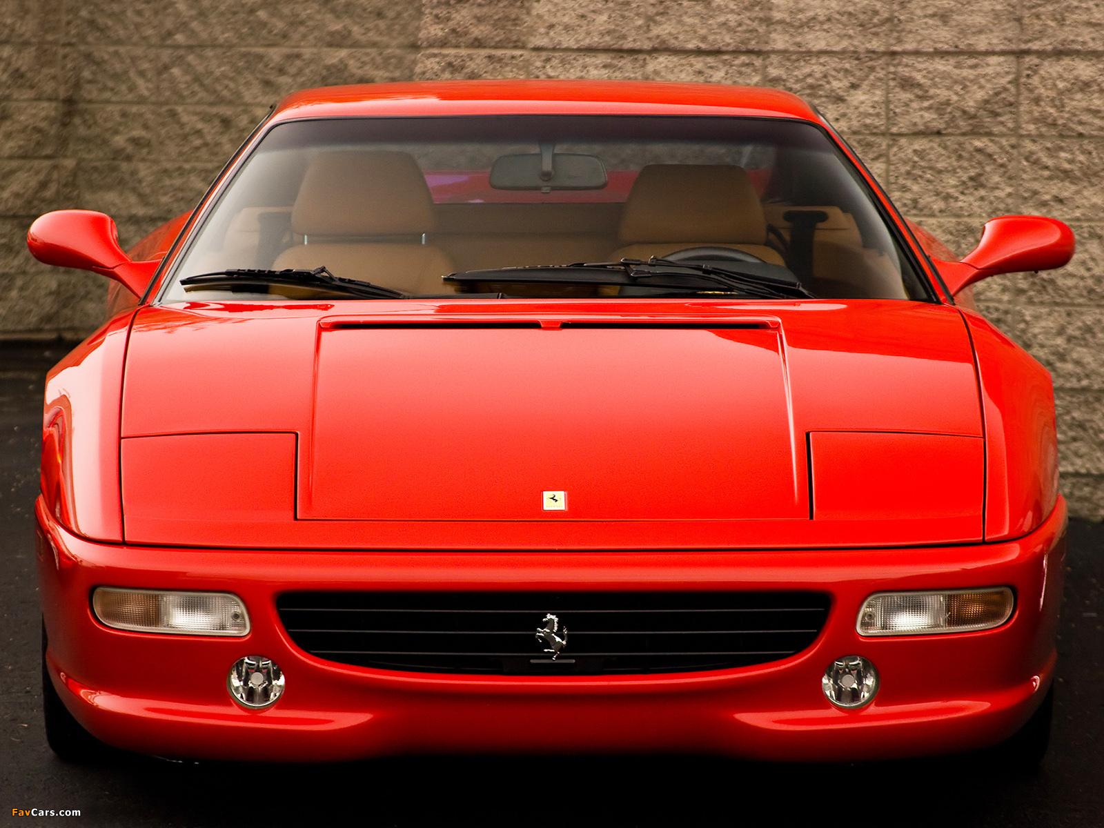 Ferrari F355 Berlinetta 1994 99 Wallpapers 1600x1200
