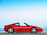 Ferrari F355 GTS UK-spec 1994–99 wallpapers
