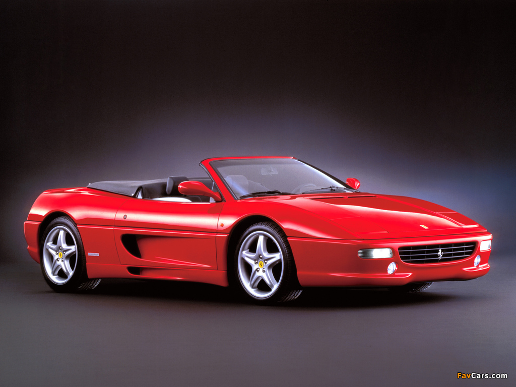 Ferrari F355 Spider 1994–99 wallpapers (1024 x 768)
