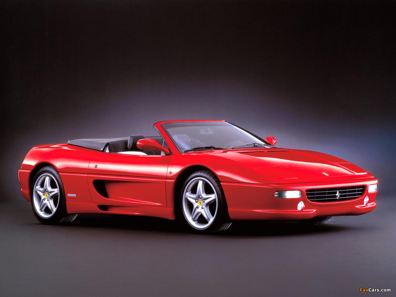 Ferrari F355 Spider 1994–99 wallpapers (1280 x 960)