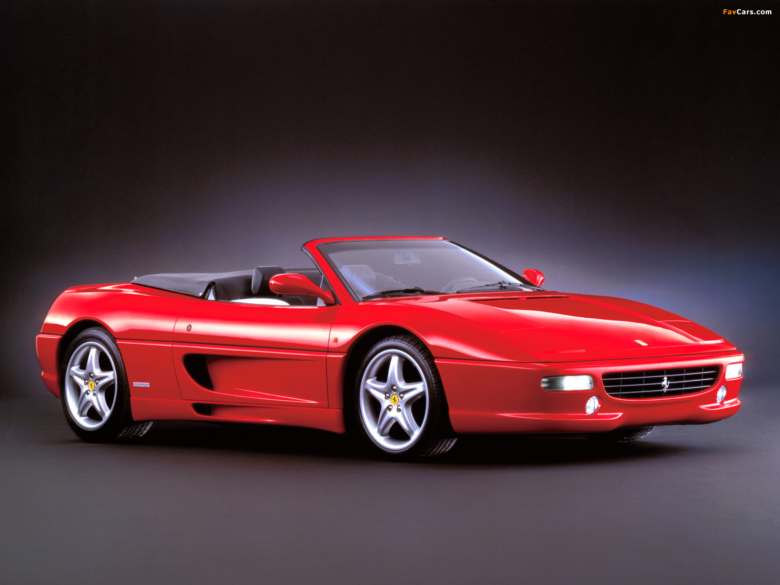Ferrari F355 Spider 1994–99 wallpapers (1600 x 1200)