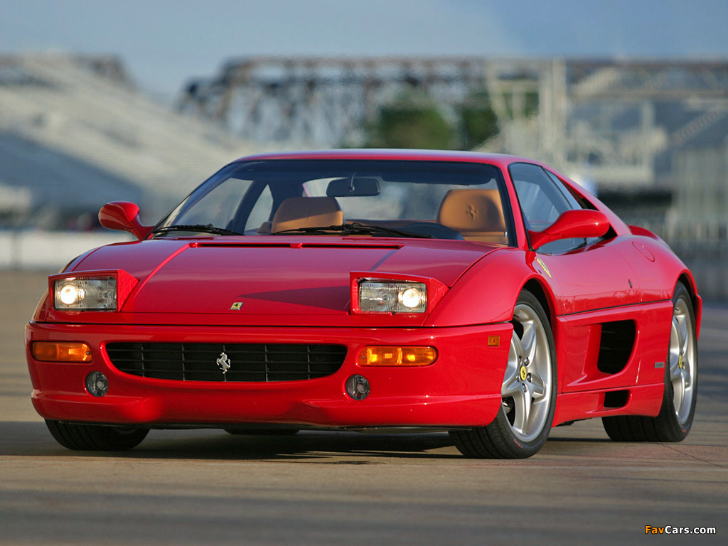 Ferrari F355 Berlinetta 1994–99 wallpapers (1024 x 768)