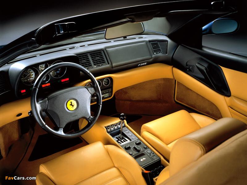 Images of Ferrari F355 Spider 1994–99 (800 x 600)
