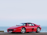 Images of Ferrari F355 GTS UK-spec 1994–99