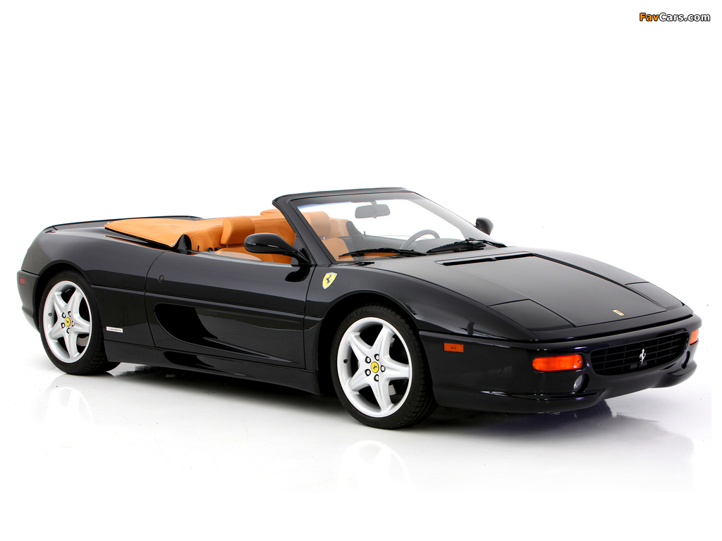 Images of Ferrari F355 Spider 1994–99 (1024 x 768)