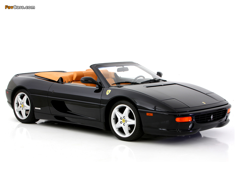 Images of Ferrari F355 Spider 1994–99 (800 x 600)