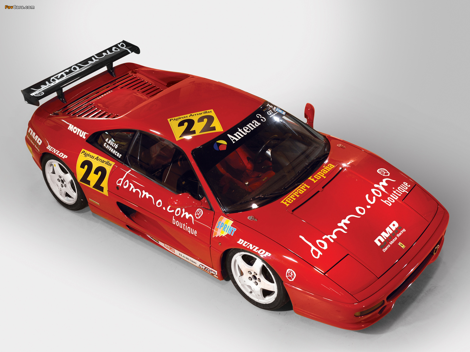 Images of Ferrari F355 Challenge 1995–97 (1600 x 1200)