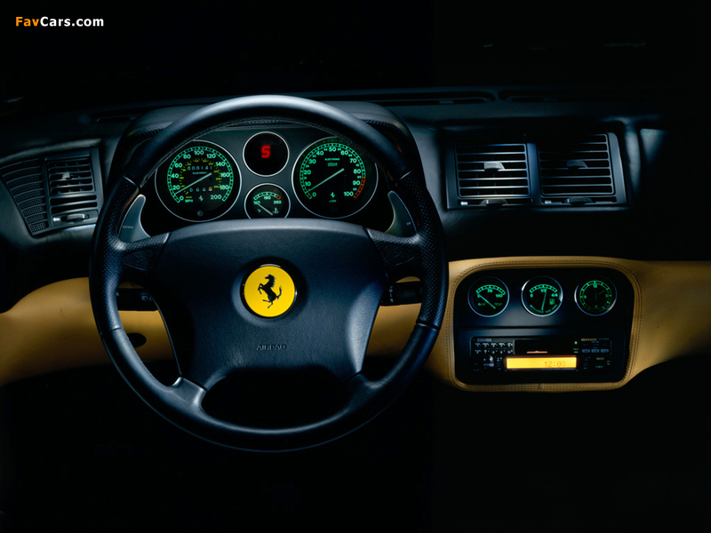 Photos of Ferrari F355 Berlinetta 1994–99 (800 x 600)