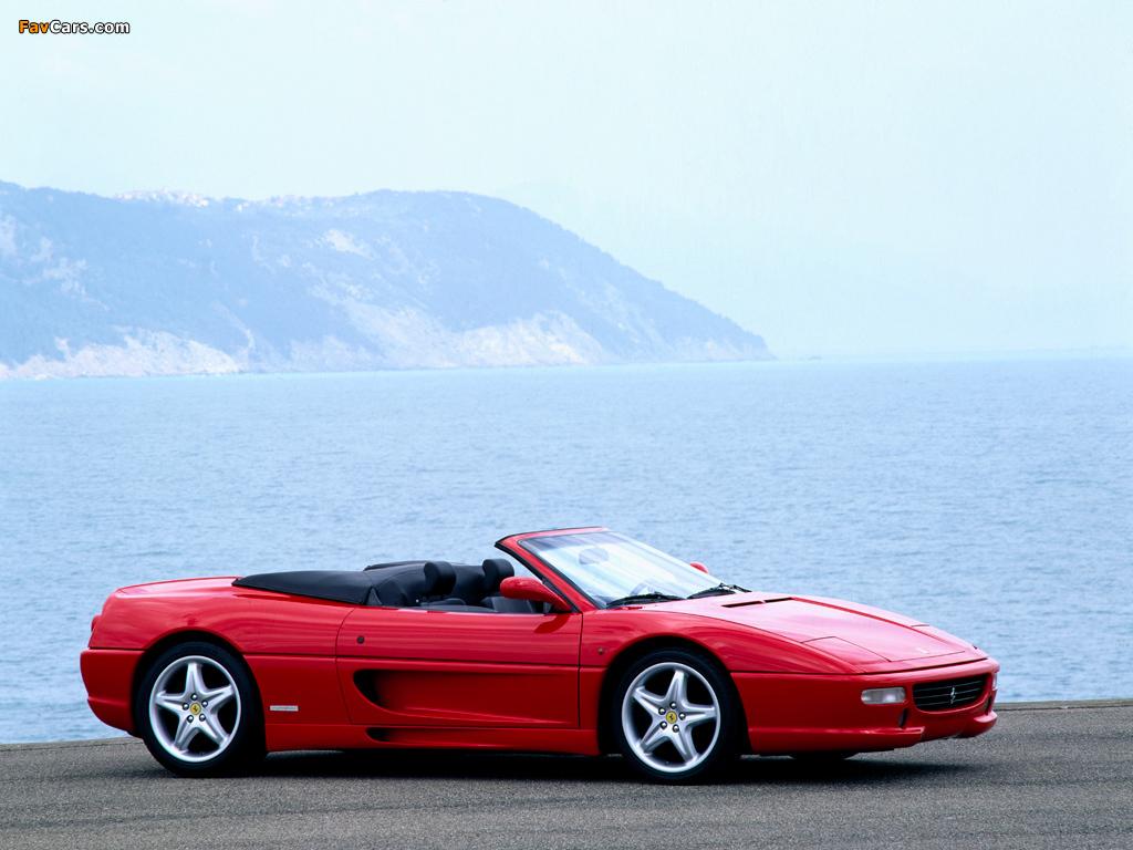 Photos of Ferrari F355 Spider 1994–99 (1024 x 768)