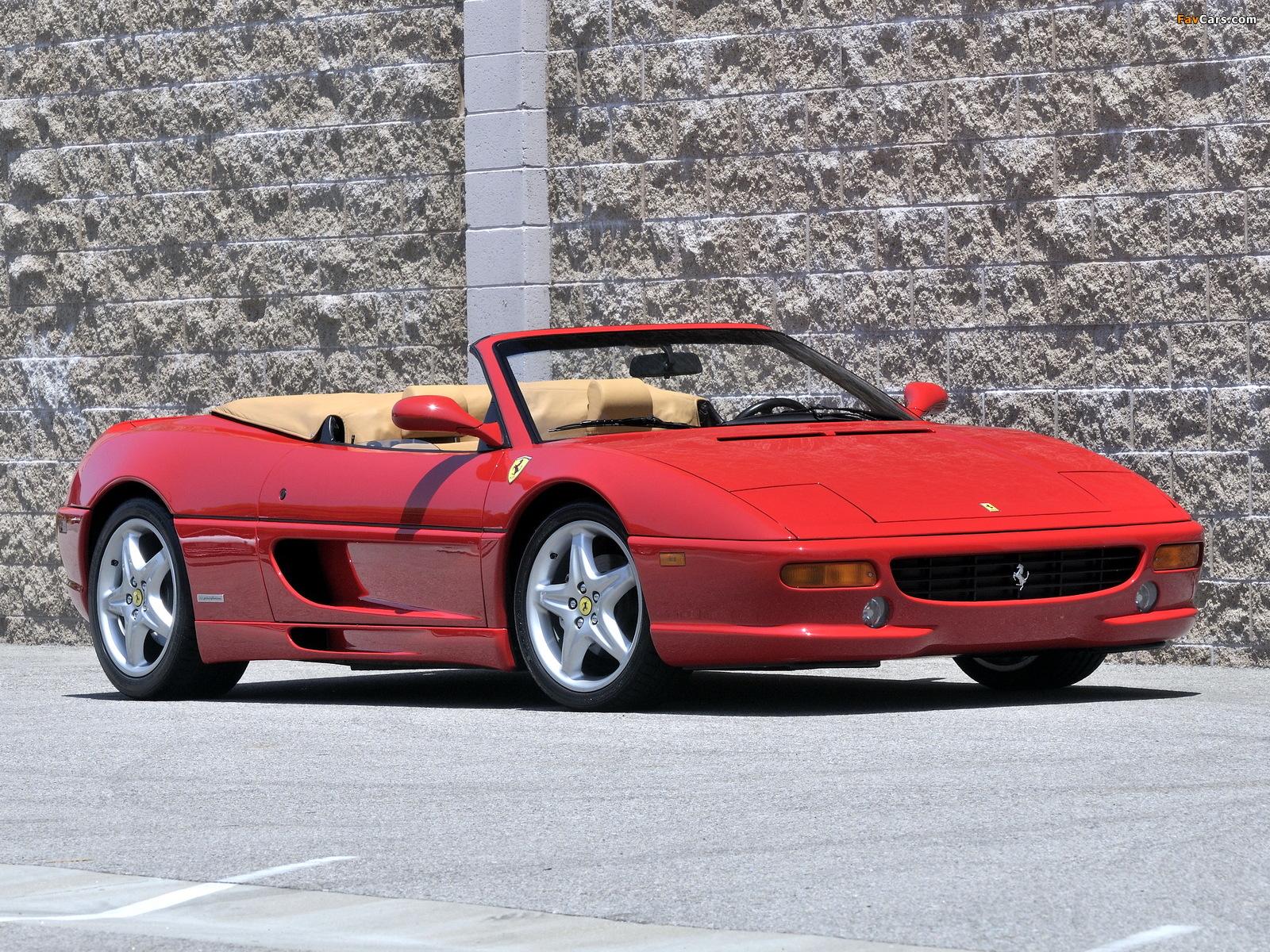 Pictures of Ferrari F355 Spider 1994–99 (1600 x 1200)