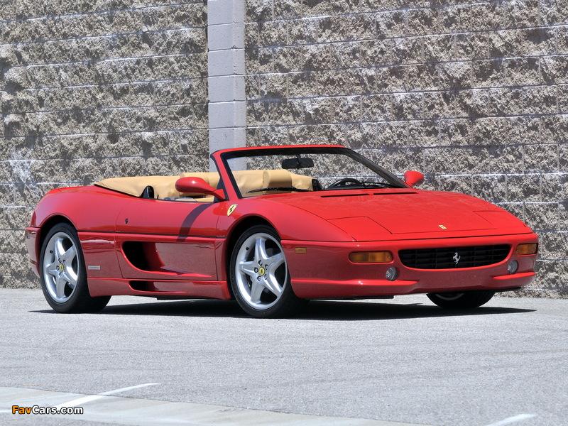 Pictures of Ferrari F355 Spider 1994–99 (800 x 600)