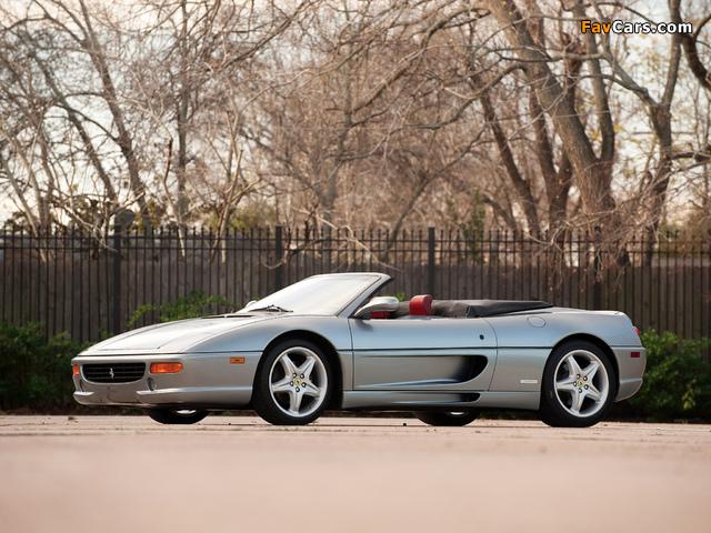 Ferrari F355 Spider 1994–99 wallpapers (640 x 480)