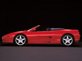 Ferrari F355 Spider 1994–99 wallpapers