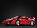 Ferrari F40 Prototype 1987 images