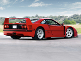 Ferrari F40 US-spec 1987–92 photos