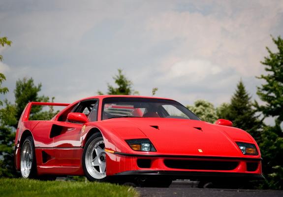 Ferrari f40 specs