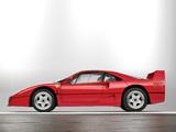 Ferrari F40 Prototype 1987 pictures