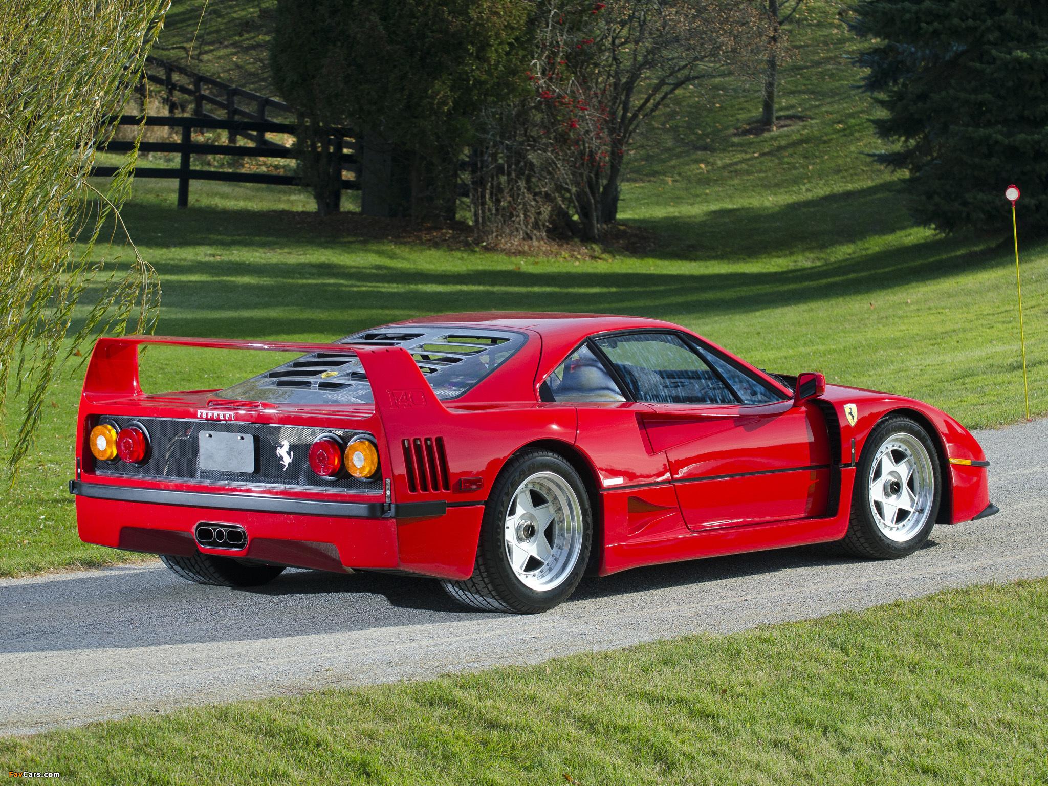 Images Of Ferrari F40 Us Spec 1987 92 2048x1536