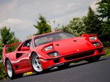 Photos of Ferrari F40 US-spec 1987–92
