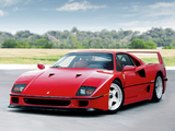 Photos of Ferrari F40 US-spec 1987–92