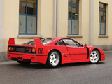 Photos of Ferrari F40 1987–92