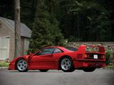 Pictures of Ferrari F40 US-spec 1987–92