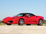 Images of Ferrari F430 Spider US-spec 2005–09