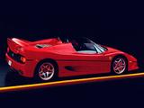 Ferrari F50 US-spec 1995 images