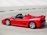 Ferrari F50 US-spec 1995 wallpapers