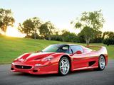 Pictures of Ferrari F50 Preserial (№99999) 1995