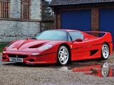 Pictures of Ferrari F50 1995–97