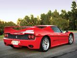 Ferrari F50 Preserial (№99999) 1995 wallpapers