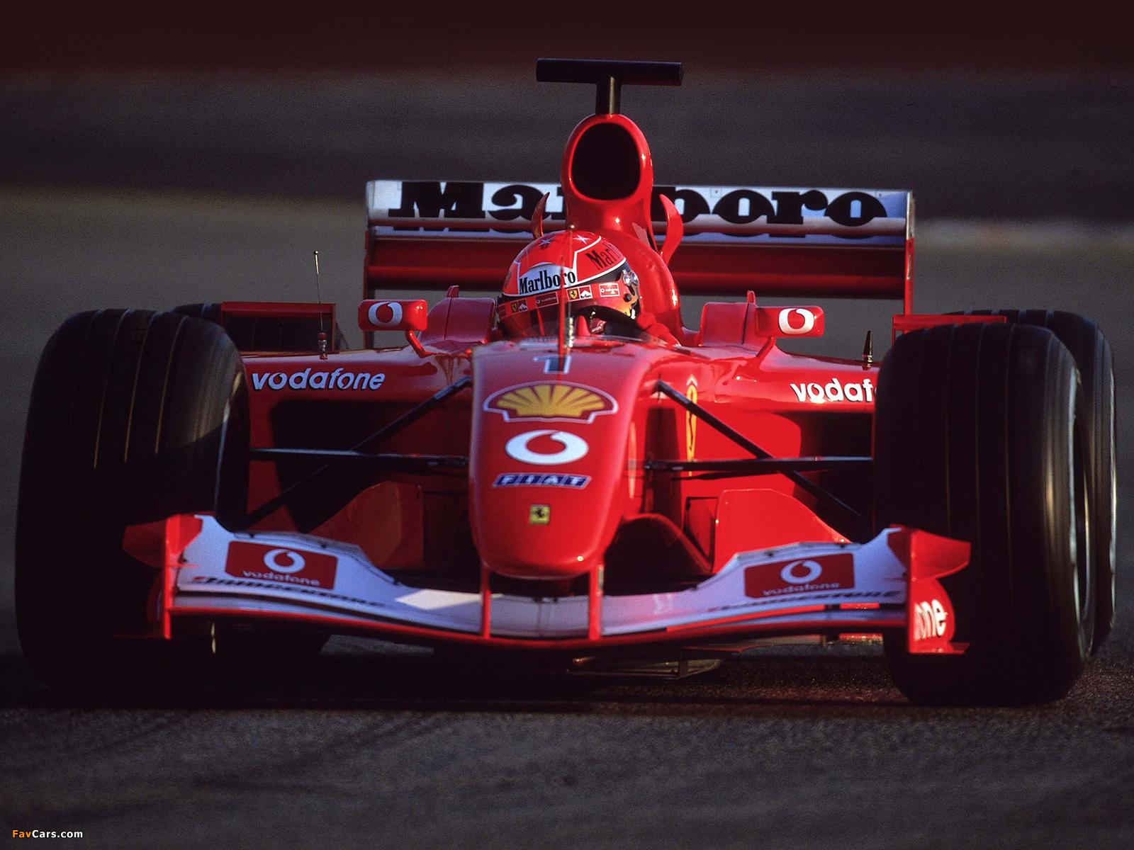 Images of Ferrari F2001 2001 (1600 x 1200)