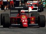 Photos of Ferrari 640 1989