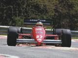 Ferrari F187 1987 wallpapers