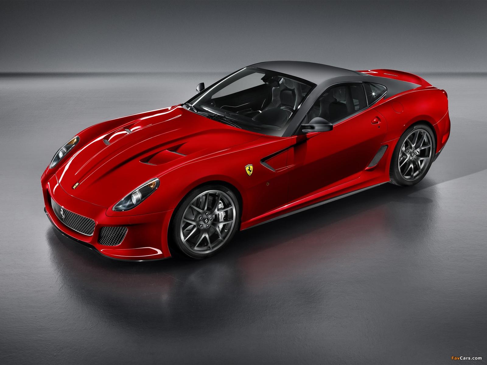 Ferrari 599 GTO 2010–12 images (1600 x 1200)