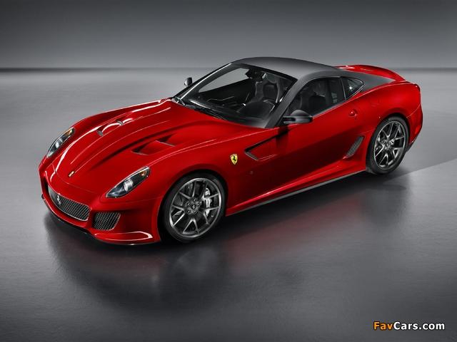 Ferrari 599 GTO 2010–12 images (640 x 480)