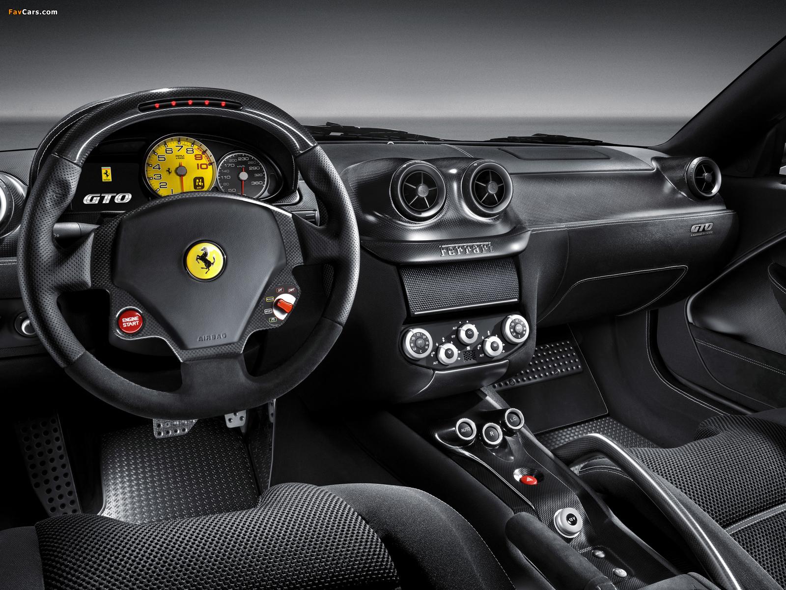 Ferrari 599 GTO 2010–12 pictures (1600 x 1200)