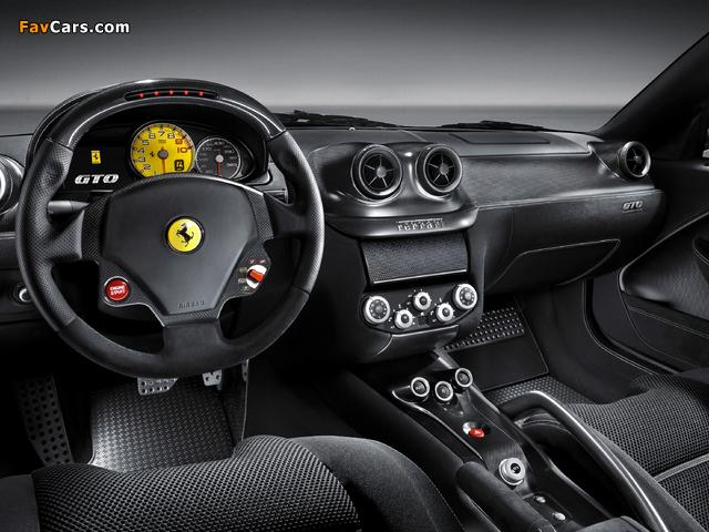 Ferrari 599 GTO 2010–12 pictures (640 x 480)