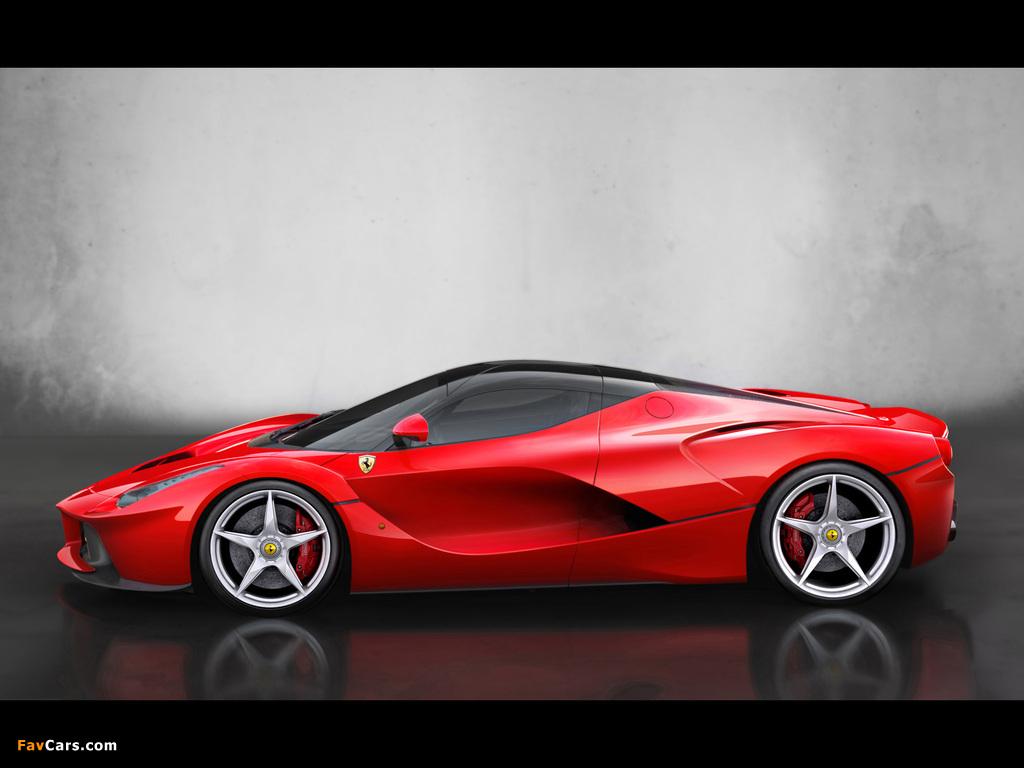 Ferrari LaFerrari 2013 pictures (1024 x 768)
