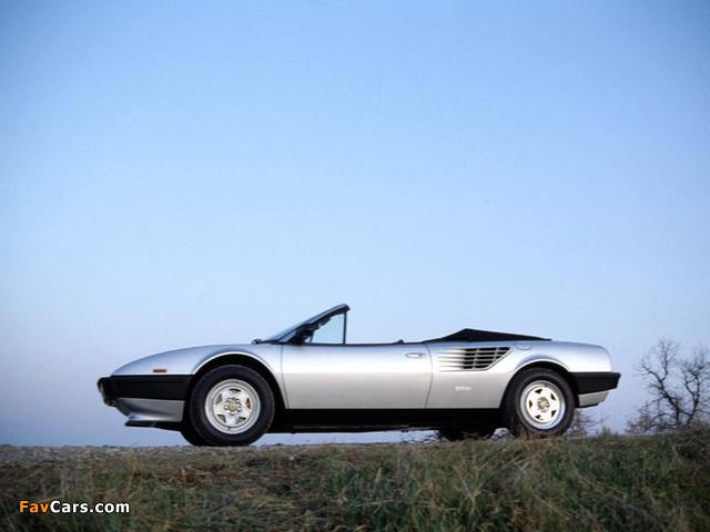 Ferrari Mondial Cabriolet 1980–85 pictures (640 x 480)